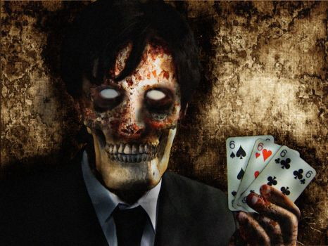Dead man's hand by demonsplayinmymind