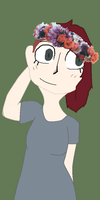Flower crowns are frustrating (PLEASE READ DESC.) by ExaggeratedGinger