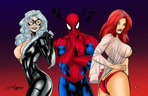 Spiderman: BlackCat or Mary ? by demonase