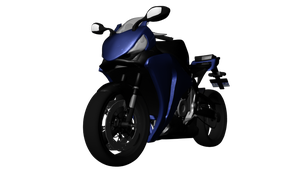 CBR1000RR 3D Model Front View by ChiiLissa