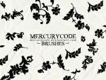 Brushset 02: flower ornaments by mercurycode
