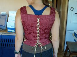 Elizabethan Bodice WIP by TimelordWitch10
