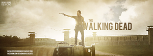 The Walking Dead FB COVER by RafaelVicenteDesigns