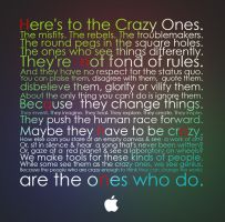 to the crazy ones... by aliasm4n5