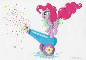 Roll out the party cannon ! by PumpkinKikile