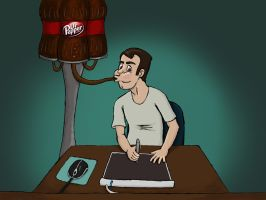 Dr. Pepper Workstation by patob215