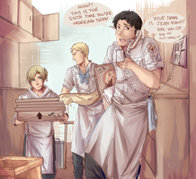 shingeki no pizza 1 by Sydsir