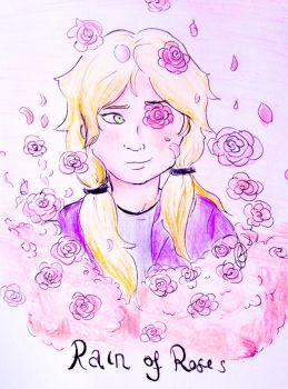 AT: Rain of Roses- Nika by TheWizardAlchemist