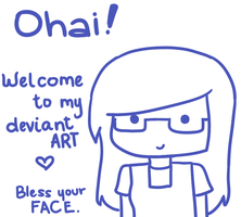 OHAI! by RoflAndrea