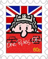 Jubilee Stamp Design by mikedaws