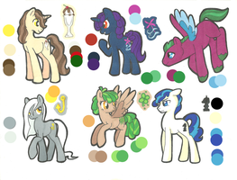 MLP: FIM Adoptables: CLOSED by Kayla-san