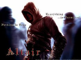 Altair: The Master Assassin by Xephr-Darkwind