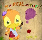 A real artist by sajtz