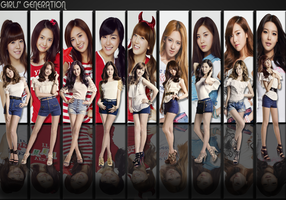SNSD WALLPAPER by ExoticGeneration21