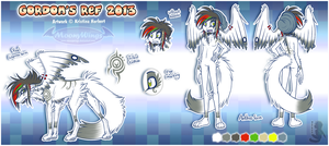 ~ Gordon's Ref 2013 ~ by MoonyWings