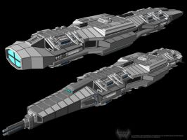 WIP Cruiser for the ROG by Mallacore