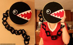 Big Chain Chomp Hoop by loveandasandwich