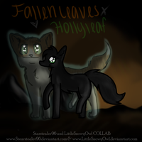 Fallen Leaves and Hollyleaf -COLLAB- by Starstealer96