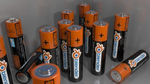 Blender Batteries by dannymax5