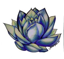 Blue Lotus... by TheForest