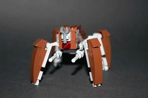 Custom Lego LM-432 Crab Droid Instructions by Riser38