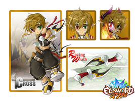 [Elsword RPs] Cross Shievaro - RPs template - by ClairSH