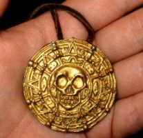 POTC Cursed Aztec Coin by Jagermeister317