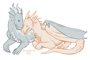 [Commission] Comfort by Scaleeth