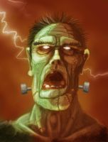 Frankenstein's Monster by lifebytes