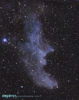 IC2118 - Witch Head Nebula by whiteLion07