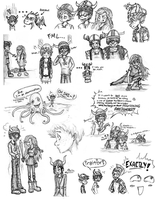 HTTYD Sketchdump by BarraKuDuh
