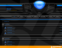 Vivid GAMER edition skin by EnzuDes1gn