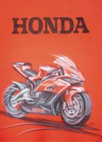 Honda t-shirt by ivita-iva
