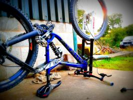 Strong Couloured Bike by GazPoo