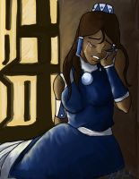 Legend of Korra- The weight of the world by BlackInkHeart