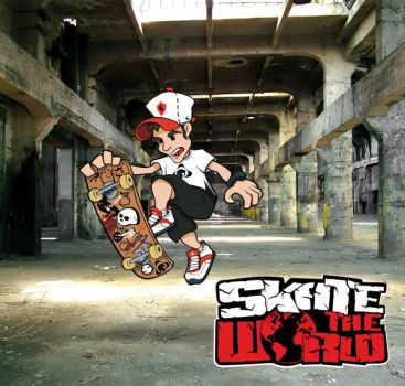 SKATE THE WORLD by davity
