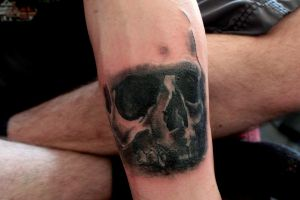 Skull Tattoo (Cover up) by 1stTanith