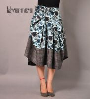 Blue Victorian Pleated Skirt 6 by yystudio