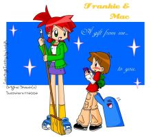 Frankie and Mac-Color by LadyK