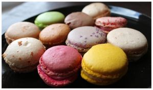 Macarons II by DysfunctionalKid