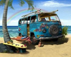 Hippie Day by allan3d
