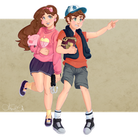 Mystery twins by Palindromee
