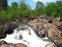 Great Falls of the Potomac 62 by Dracoart-Stock