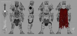 Skeleton Character Sheet by KaineT