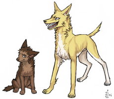 ES doggies by emlan
