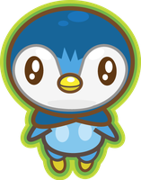 Piplup by PiNkOpHiLiC