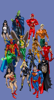 JLA 2008 by DragonArcher