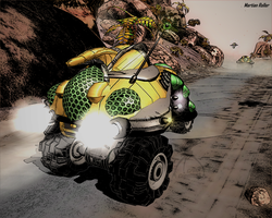 Martian Roller by XCrosserX