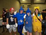 Me with friends at SacAnime :Aug 2013: by shadica225