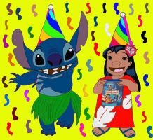 Lilo and Stitch (2002-2012) by danielnewton